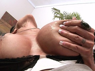 Jewels can't take some other day at the office out of sense conditioning! The ice cubes aid but with bra buddies that large, it's always sexy. Little does Jewels know, her boss Mr. Sins has an sense conditioner in his office and when that guy finds out this babe's ready to do soever it takes to get it, that guy tells her quite simply that that babe'll get her cold air, if this guy can give her fur pie some serious penis conditioning.
